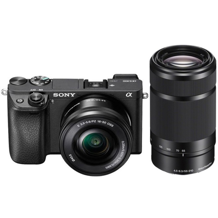 sony-a6300-twin-lens-kit-with-16-50mm-and-55-210mm-zoom-e-mount-lenses